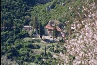 Ιερά Μονή Χρυσοποδαρίτισσας στην Χρυσοπηγή